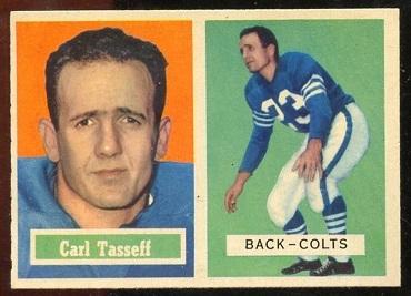 1957 Topps #77 - Carl Taseff - nm