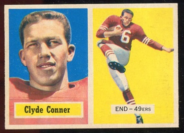 1957 Topps #78 - Clyde Conner - exmt+