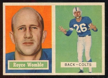1957 Topps #86 - Royce Womble - nm