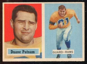 1957 Topps #87 - Duane Putnam - nm