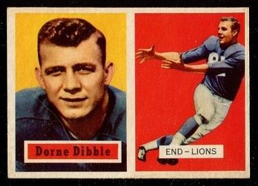 1957 Topps #97 - Dorne Dibble - exmt