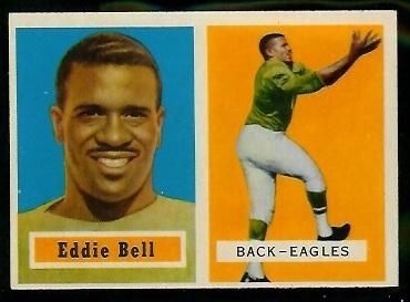 1957 Topps #99 - Eddie Bell - exmt