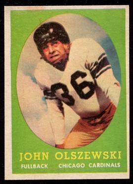 1958 Topps #107 - John Olszewski - vg-ex