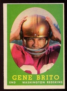 1958 Topps #113 - Gene Brito - nm-mt oc