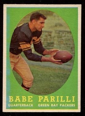 1958 Topps #118 - Babe Parilli - nm oc