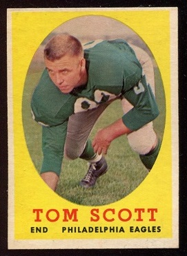 1958 Topps #125 - Tom Scott - ex+