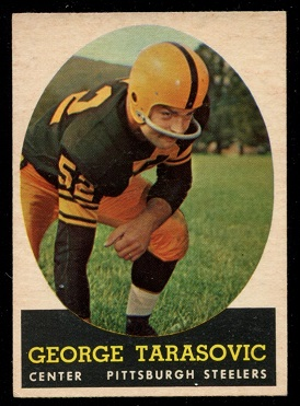 1958 Topps #37 - George Tarasovic - exmt