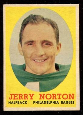 1958 Topps #40 - Jerry Norton - exmt