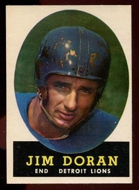 1958 Topps #43 - Jim Doran - nm