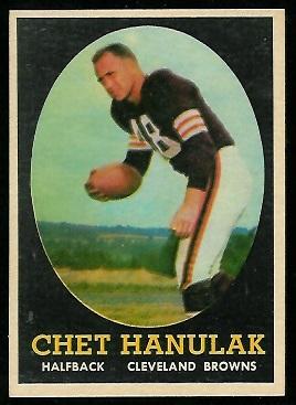 1958 Topps #45 - Chet Hanulak - nm