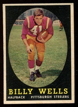 1958 Topps #49 - Billy Wells - nm