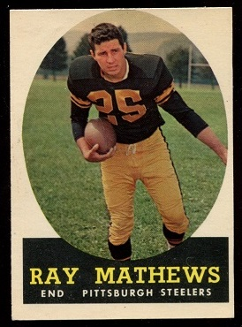1958 Topps #78 - Ray Mathews - nm oc