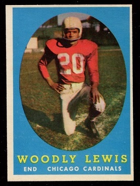 1958 Topps #82 - Woodley Lewis - nm+ oc