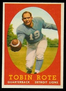 1958 Topps #94 - Tobin Rote - nm