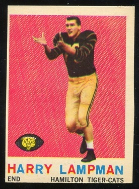 1959 Topps CFL #75 - Harry Lampman - nm