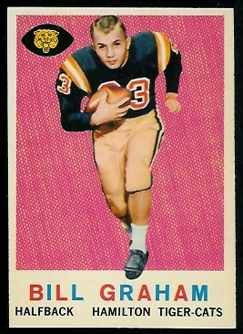 1959 Topps CFL #76 - Bill Graham - nm