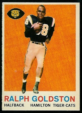 1959 Topps CFL #77 - Ralph Goldston - nm+