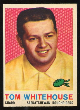 1959 Topps CFL #85 - Tom Whitehouse - nm