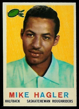 1959 Topps CFL #86 - Mike Hagler - nm+