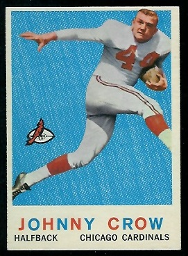 1959 Topps #105 - John David Crow - nm+