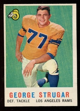 1959 Topps #121 - George Strugar - nm
