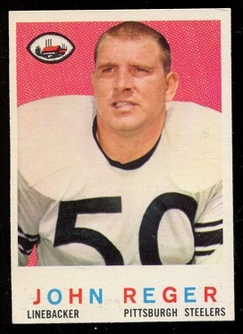 1959 Topps #124 - John Reger - nm