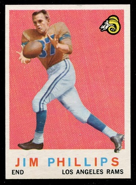 1959 Topps #142 - Jim Phillips - nm+