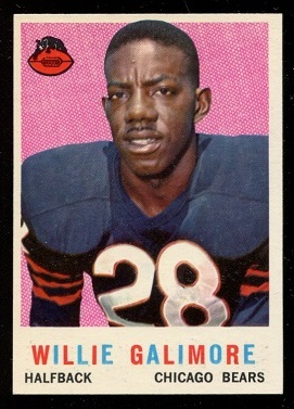 1959 Topps #145 - Willie Galimore - nm+