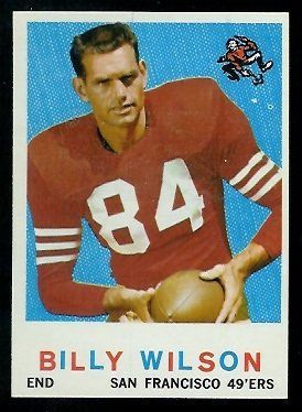 1959 Topps #148 - Billy Wilson - nm+