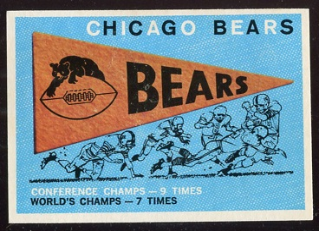 1959 Topps #153 - Bears Pennant - nm