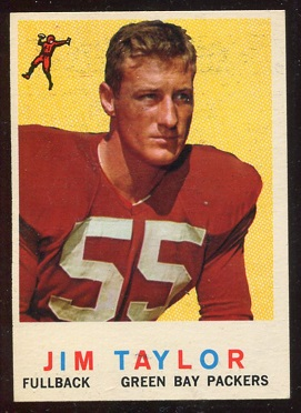 1959 Topps #155 - Jim Taylor - exmt+
