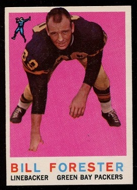 1959 Topps #39 - Bill Forester - nm+