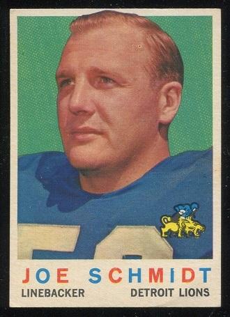 1959 Topps #6 - Joe Schmidt - nm