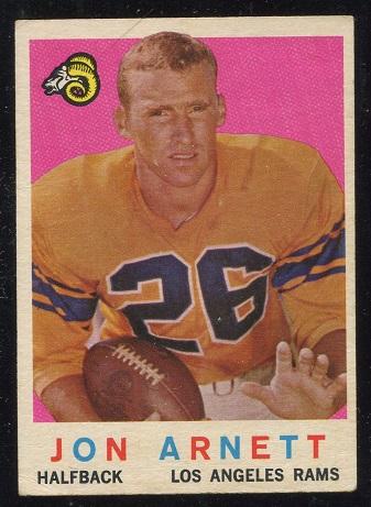 1959 Topps #70 - Jon Arnett - nm