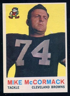 1959 Topps #74 - Mike McCormack - nm