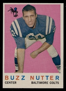 1959 Topps #78 - Buzz Nutter - nm