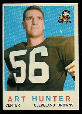 1959 Topps #92 - Art Hunter - nm
