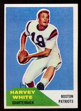 1960 Fleer #1 - Harvey White - exmt