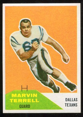 1960 Fleer #101 - Marvin Terrell - nm+
