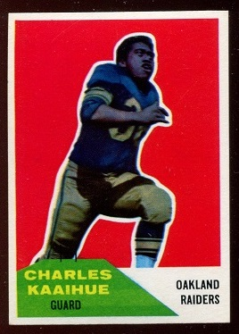 1960 Fleer #104 - Charlie Kaaihue - nm