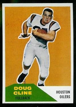 1960 Fleer #109 - Doug Cline - nm