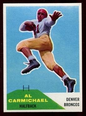 1960 Fleer #110 - Al Carmichael - nm+