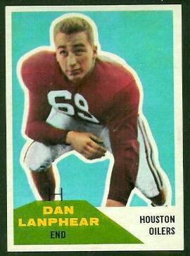 1960 Fleer #127 - Dan Lanphear - nm