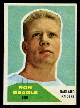 1960 Fleer #132 - Ron Beagle - vg