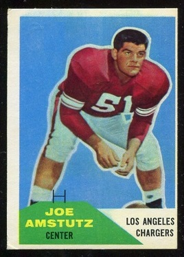 1960 Fleer #28 - Joe Amstutz - vg