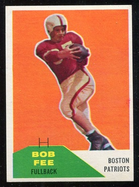 1960 Fleer #29 - Bob Fee - nm