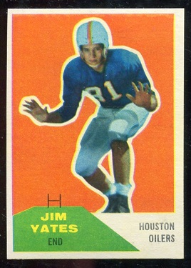 1960 Fleer #31 - Jim Yeats - nm