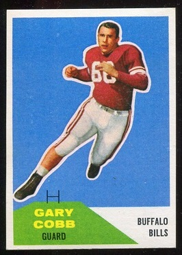 1960 Fleer #37 - Gary Cobb - nm