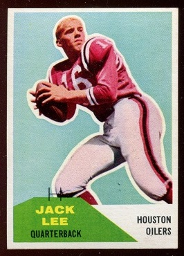 1960 Fleer #38 - Jack Lee - nm