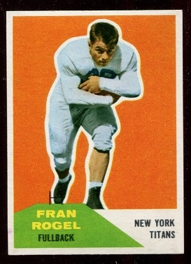 1960 Fleer #43 - Fran Rogel - nm-mt
